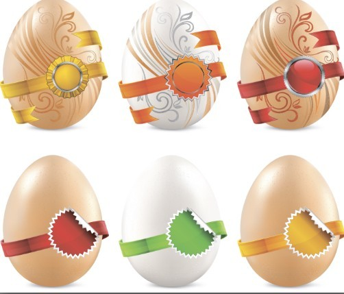 Creative Easter Eggs Design Vector 02