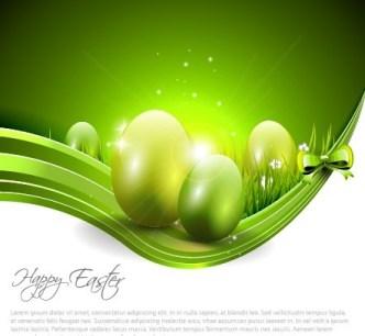 Creative Easter Eggs Design Vector 06