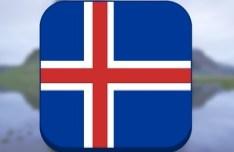Sleek Flag Icon PSD Template