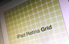 iPad Retina Grid PSD