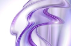 Colorful Hazy Waves Vector Background 04