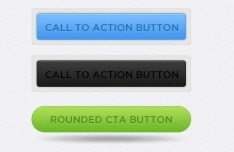Set Of Smooth PSD Call To Action Button Templates
