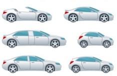 Vector Cartoon Cars
