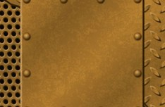 Vector Metal and Rivets Background 05