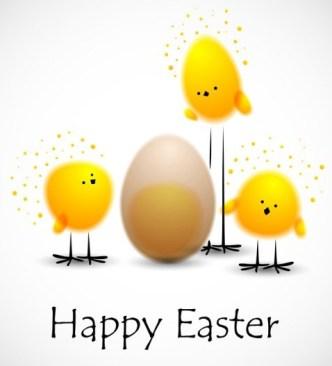 Creative Easter Eggs Vector Design 03