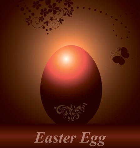 Creative Easter Eggs Vector Design 05