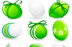 Creative Easter Eggs Vector Design 06