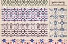 Vector Retro Pattern Background 02