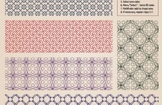 Vector Retro Pattern Background 03