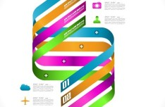 Creative Infographic Data Display Elements Vector 07