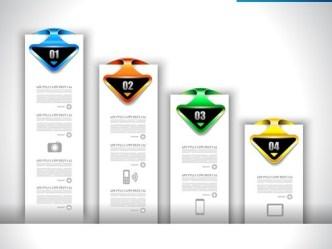 Creative Infographic Data Display Elements Vector 08