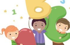 Cute Cartoon Kids Vector Illustration 01
