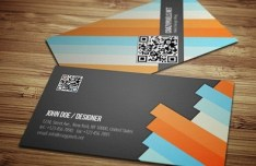Fashion PSD Business Card Template