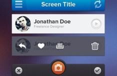 Clean iPhone App UI Kit