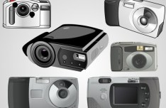 Vector Black and White Electronics