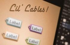 Tiny Pixel-perfect Tag Labels PSD