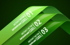 Vector Infographic Number Option Labels 02