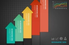 Colorful Paper Number Labels For Infographic Data 04