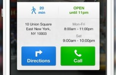 Location View UI For iOS App PSD