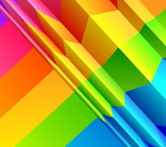 Vector Colorful Flowing Lines Background 03