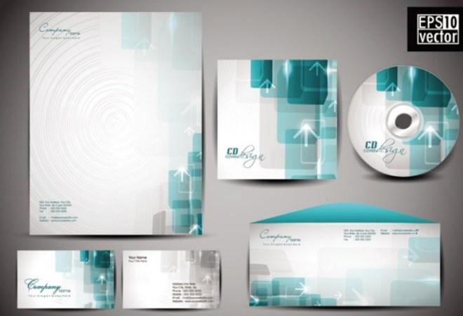 Vector Corporate Identity Design Template 01