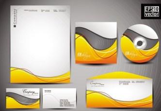 Vector Corporate Identity Design Template 02
