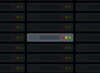 Flat Web Server Icons PSD