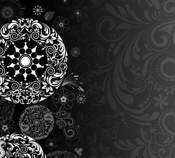 Classical Floral Pattern Background 03