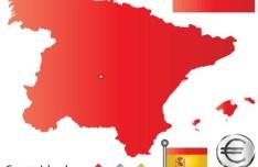 Vector Spain Information Graphic Elements