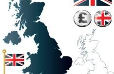 Vector United Kingdom Information Graphic Elements