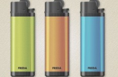 Colorful Vector Simple Lighters