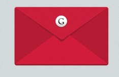 Flat Red Gmail Icon