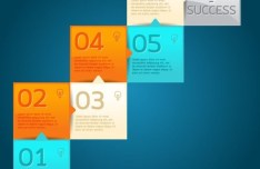 Vector Creative Data Display Elements For Infographic 04