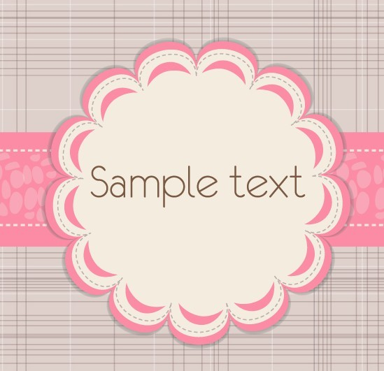Fresh and Clean Decorative Border Vector 02