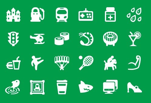 200+ Map Icons For Map Apps (PSD Included)