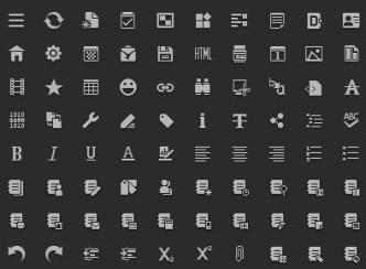 Clean Minimal Web Icon Set (PSD)