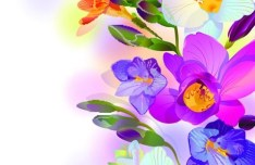 Classical Fantastic Vector Flowers 03