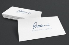 Super Simple Business Card Design Template PSD