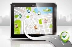 Vector Map Navigation App Elements 01