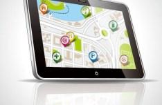 Vector Map Navigation App Elements 02