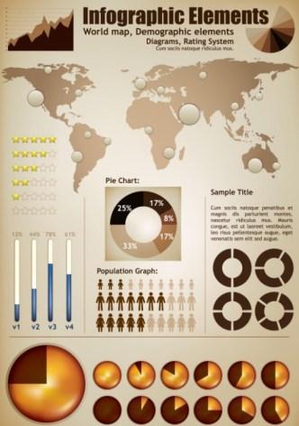 Vector Business Infographic Design Elements 02