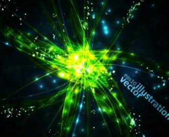 Fantastic Abstract HI-Tech Background Vector 03