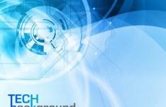Fantastic Abstract HI-Tech Background Vector 04