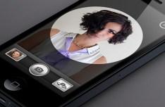 iPhone 5 Camera App UI PSD