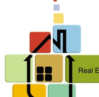 Abstract Real Estate Vector Illustration 03