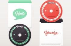 DVD & Envelope PSD Mock-Up