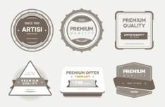 Premium Quality PSD & Vector Badges