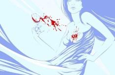 Vector Fashion Female Illustration 01