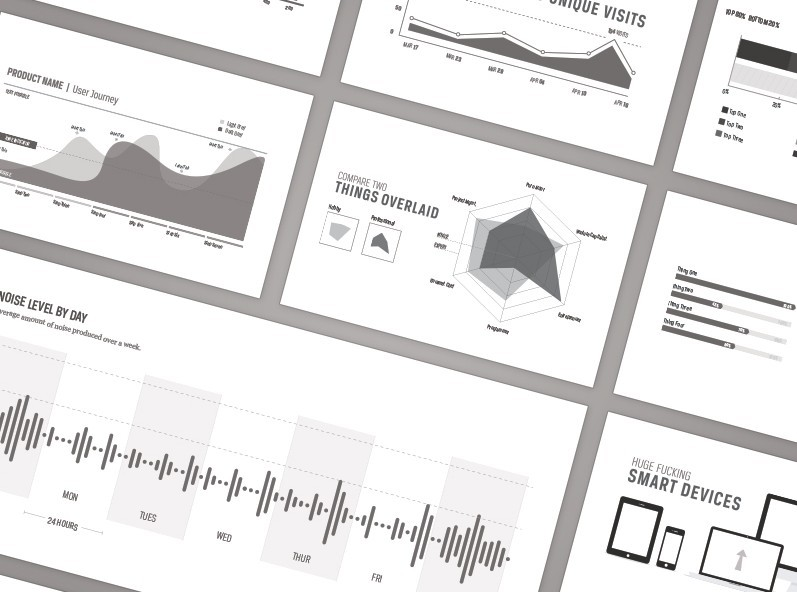 Free Web Analytic Infographic Elements Vector - TitanUI