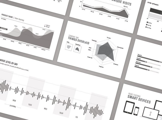 Web Analytic Infographic Elements Vector